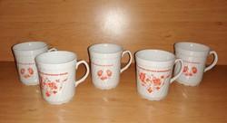 Iris Cluj porcelán bögre készlet 5 db egyben (1/K)