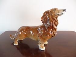 ENS porcelán tacskó kutya
