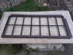 Antik kovácsoltvas ablak
