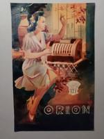 Gózon Lajos Art deco Orion plakátterv
