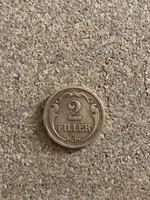2 Fillér 1931 Ritka