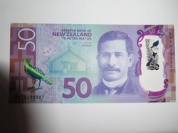 Új-Zéland 50 dollár 2016 UNC Polymer