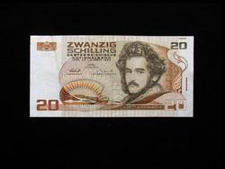 20 SCHILLING - 1986 - AUSZTRIA (EF)