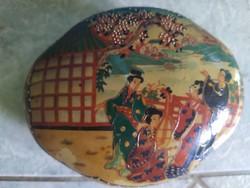 Satsuma porcelán ékszertartó