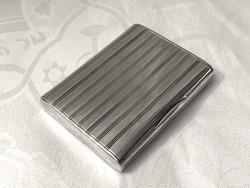 Antik ezüst cigarettatárca, 172 g.