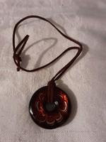 Muranoi üveg medál