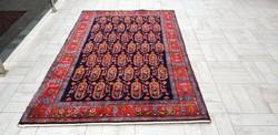 Iráni Botah mintás 134x207 kézi gyapjú perzsa szőnyeg 37P_14