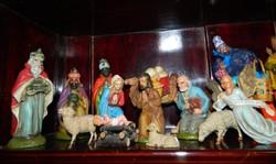 Német íAntik Betlehemi figurák
