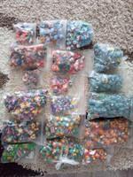 HATALMAS(10-15ezer darabos) Kinderfigura gyűjtemény!