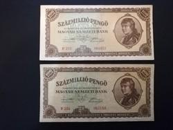 Százmillió Pengő 1946