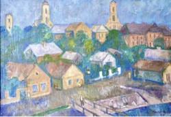 Kántor Andor: Szentendrei házak