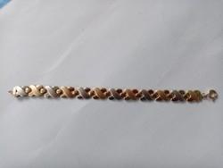 Mutatós arany karkötő karlánc