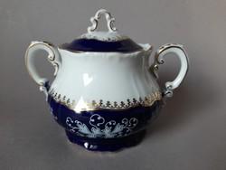 Zsolnay pompadour II. kávés készlet cukortartója