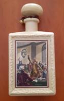USA motívumokkal díszített kerámia flaska