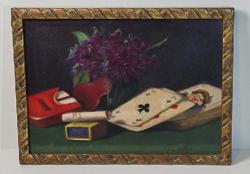 Molnár Z. János /1880-1960/ - art deco festménye