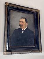 ZILZER ANTAL (1860-1921) NEMESI PORTRÉ