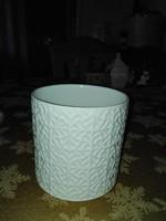 Angol porcelán kaspo 11. X. 10 cm