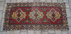  Keresztszemes Kilim szőnyeg kelim falvédő kézi szőnyeg