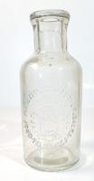 Antik tejesüveg - Gróf Károlyi Lászó Fóti Uradalom