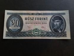 Hajtatlan 20 Forint 1975 aUnc.