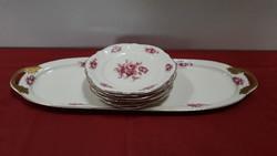 Rosenthal Viktoria süteményes tányér készlet
