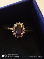 92.5% gyémánt gyűrű /54/