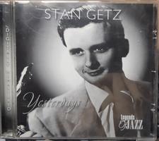 STAN GETZ  : YESTERDAYS  -  JAZZ CD