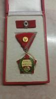 Régi  gyógyszeripari szocialista kitüntetés KIVÁLÓ MUNKÁÉRT