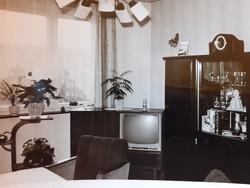 Régi fotó szobabelső enteriőr fénykép