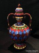 Városlődi Fedeles Váza 40cm Városlőd Kerámia