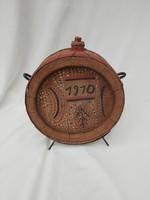 Csobolyó, kulacs. 1910-11
