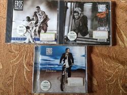 3 db Eros Ramazzotti eredeti  cd