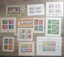 Magyar bélyeg blokkok