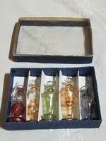 Parfümös üvegek, 5 db egyben,saját dobozában.