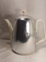 Antik art deco design thermo melegen tartó kávé tea kiöntő ritkaság