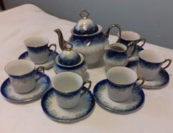 Elegáns Apulum porcelán teás készlet (6 személyes)