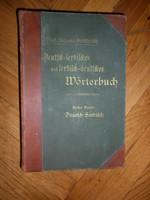 Antik szerb- német szótár 1904