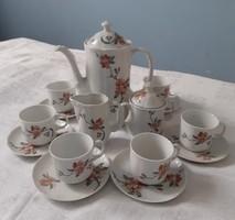 Nagyon szép Arpo kávés készlet (6 személyes)