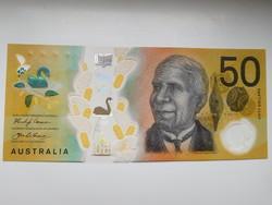 Ausztrália 50 dollár 2018 UNC Polymer