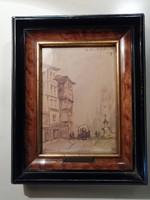 Holland Arthur - Arthur Battishill Yolland akvarell