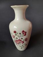 Zsolnay virágos  váza 16 cm