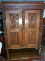 Carved temple cabinet 1749