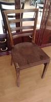 1 darab antik art deco  fa szék