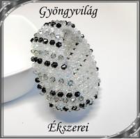 Capriccho 6 soros fűzött kristály karkötő SK-K04-6 05