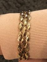 Elad női arany karkötő