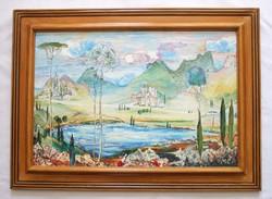 Molnár C. Pál festmény