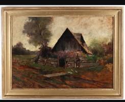 Festmény Neogrady Lászlo