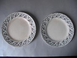 Antik Sarreguemines tányérok (2 db)