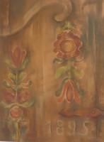 Gally A. Katalin: Kalotaszegi virágok  (pasztell-papír) 50x37 cm