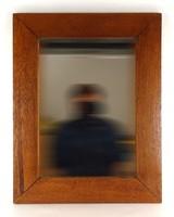 1D007 Régi tükör széles keretben 58 x 45 cm